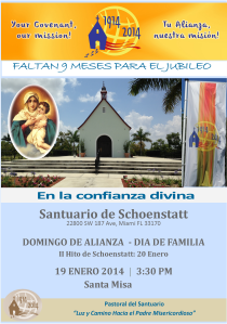 INVITACION DOMINGO 01-19-2014