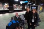 Esperando el tren Frankfurt - Koblenz