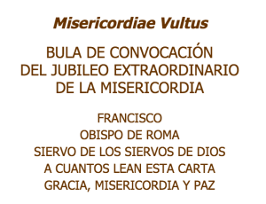 Jubileo de la Misericordia