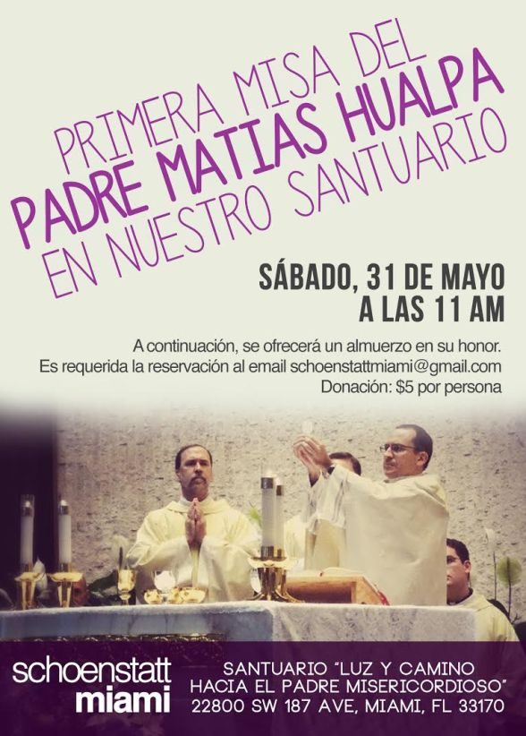 Primera Misa P. Matias Hualpa