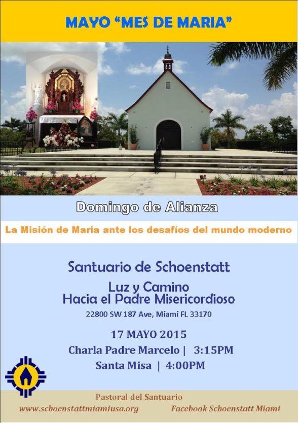Domingo de Alianza 17 Mayo 2015
