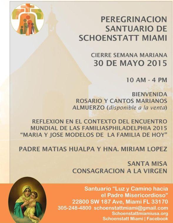 Invitacion Cierre Semana Mariana