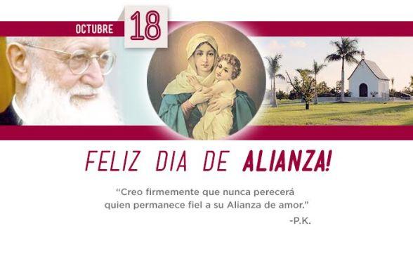 Feliz Día Alianza y 101 años fundación Schoenstatt