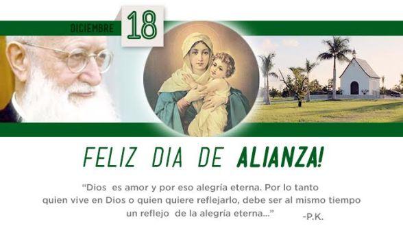 Feliz Dia Alianza Dec 18