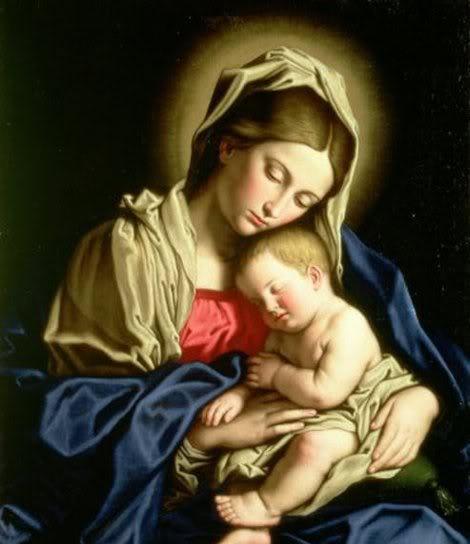 Santa Maria, madre De Dios y nuestra