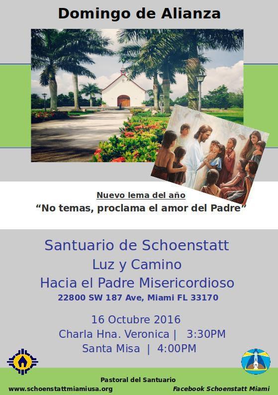 Invitacion Domingo de Alianza