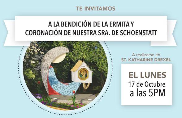 Invitación bendición Ermita en SKD