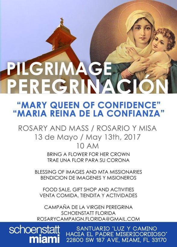 Invitacion Peregrinacion Mayo 2017