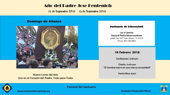 Invitación Domingo de Alianza