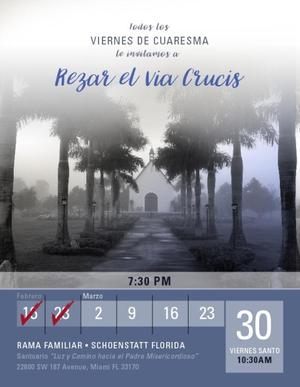 Invitacion Via Crucis