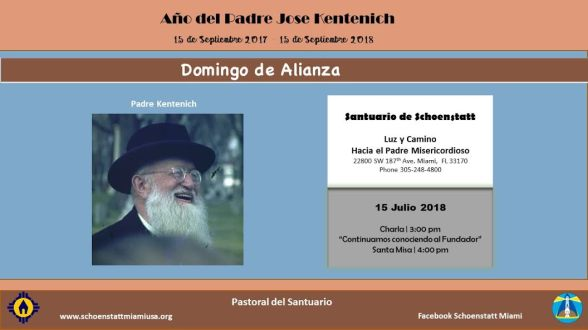 Domingo de Alianza - 15 Julio 2018