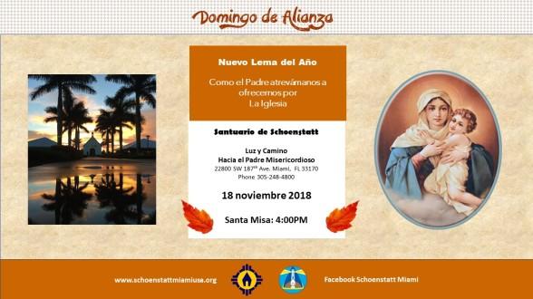 Invitación 18 noviembre 2018