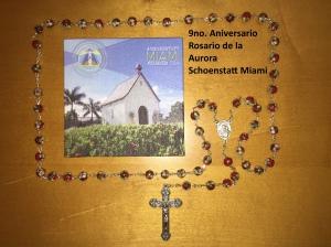 9no. aniversario rosario de la aurora - schoenstatt miami