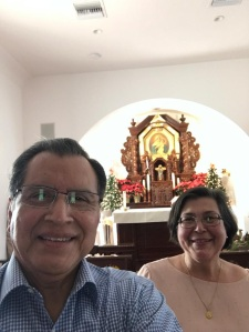 Roger y Elizabeth Velasquez